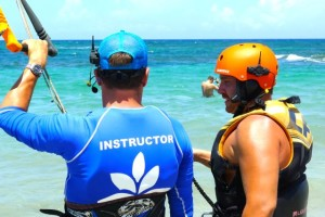 Kiteboard lessons