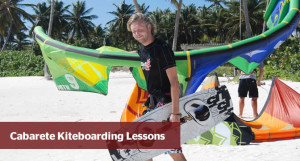 Kitesurf lesson Dominican Republic